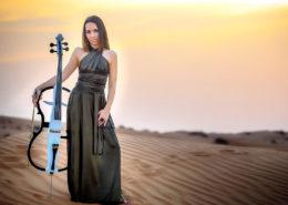 female cellist, artists in dubai, dubai artists, artists dubai, cello player