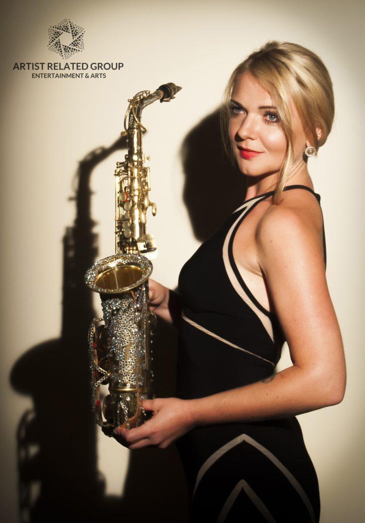 Hire Saxophonist Dubai | Female Sax Player UAE | Saxophone ...