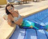 Mermaids in Dubai. Our magical mermaid show can be performed in any pool area for corporate events, weddings, kids' parties and more. Mermaids will be swimming around with custom-made dresses to entertain the guests for any kind of events.