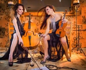 Sparks Duo - violin and cello duet, jazz duo booking