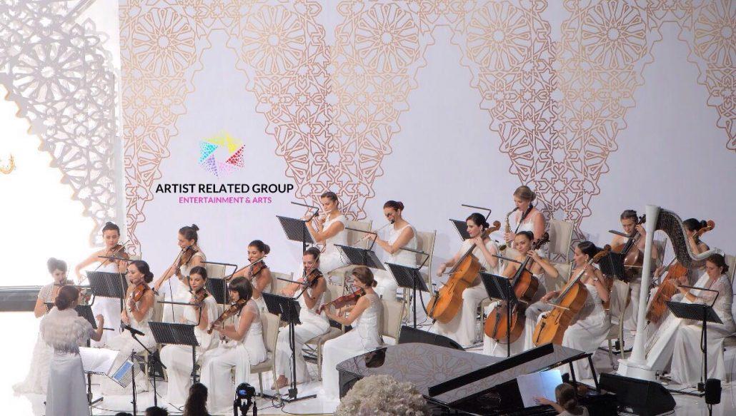 Ceremony First Reception: Christ Church Dubai L Christian Wedding Ceremony Music