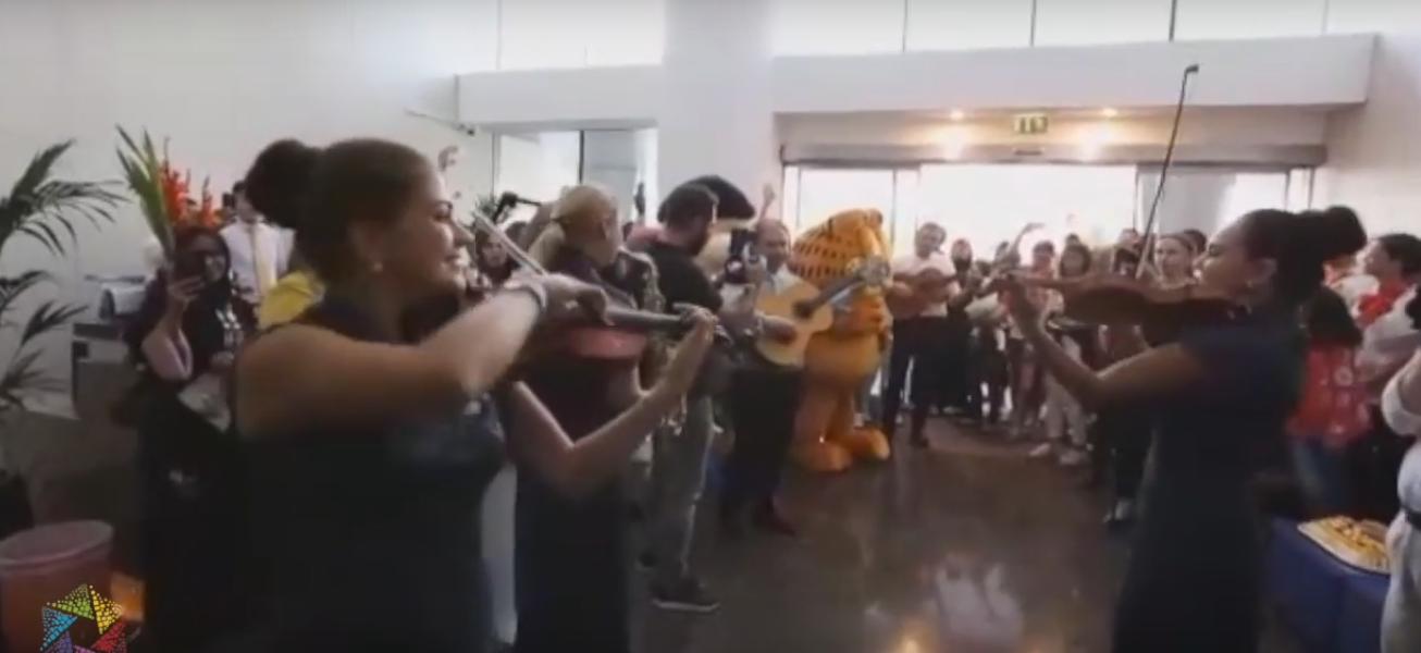 Flashmob, Flash mob Dubai
