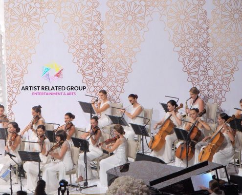 Wedding in Dubai Opera. Great Arabic wedding UAE