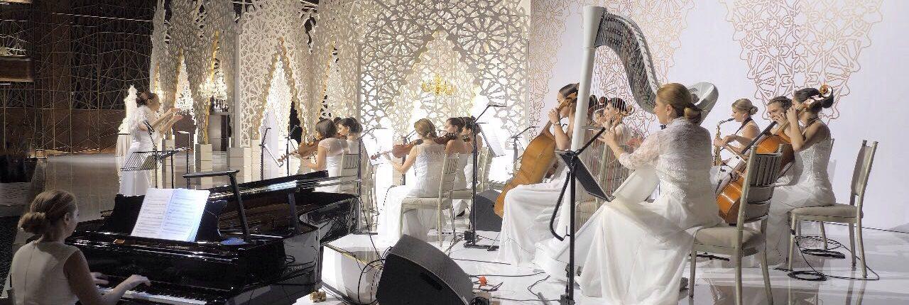 Great Arabic wedding UAE