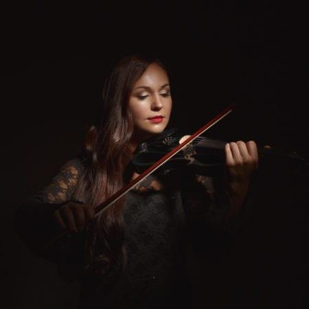 electric violinist olga